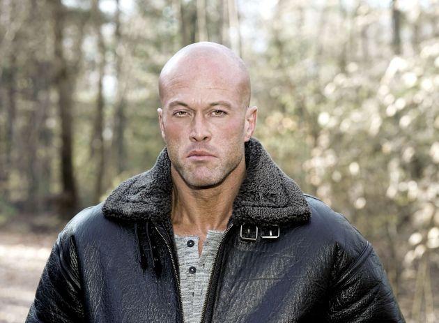 Actor & Model John Joseph Quinlan Leather Jacket by Steve Mark 3