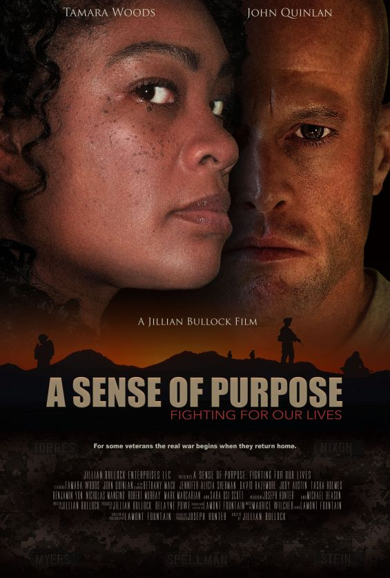 ASOP Movie Poster Actor John Joseph Quinlan & Tamara Woods A Jillian Bullock Film