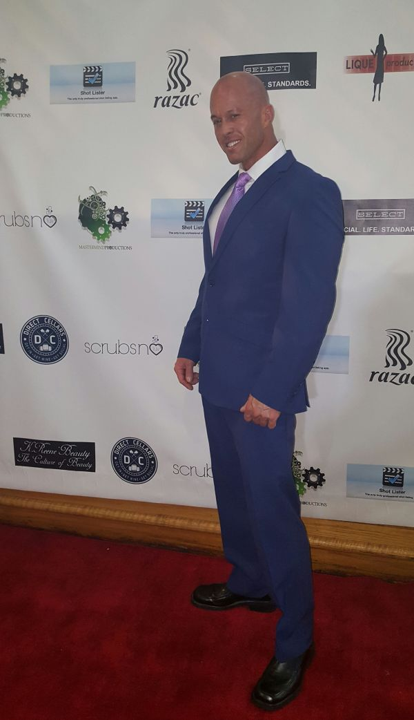 Model & Actor John Joseph Quinlan 2017 Philadelphia Independent Film Awards 1